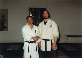 Here is Peter Freedman Sensei shaking ...