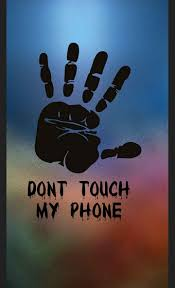mobile wallpaper dont touch my phone sharechat