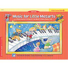 Music For Little Mozarts Lesson Book 1 (Alfred)