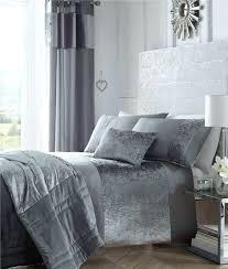 velvet bedding crushed velvet bedding in charcoal grey mink or oyster cream curtains optional velvet bedding velvet bedding
