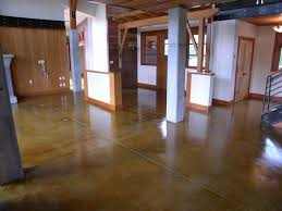 Concrete Wood Floor How To Stain Concrete Adding Color To Cement Surfaces Hgtv