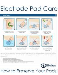 Tens Machine Pad Placement Chart Electrode Pad Placement Guides Tens Ems For Pain Relief