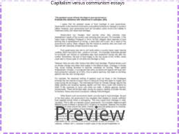 capitalism versus communism essays coursework academic service capitalism versus communism essays on essay socialism is better why vs communism than capitalism vs