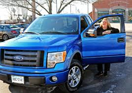 Enjoying the Ride: Mystic woman's big, blue truck a vehicle for ...