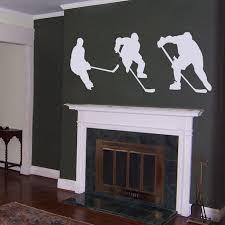 10 hockey wall decals