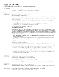 Inside Sales Rep Resume Objective Representative Format Sample