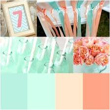 what colors go with mint green mint wedding colors like mint green