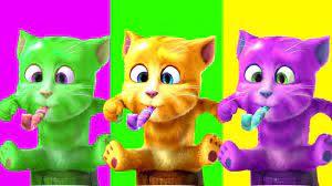 Chú Mèo Con ♫♫ Rửa Mặt Như Mèo ♫♫ Mèo Tập Thể Dục ♥ Nhạc Thiếu Nhi Vui Nhộn  Sôi Động - YouTube