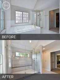 Carl  Susans Master Bath Before  After Pictures Master Bathrooms - Bathroom remodel before and after pictures