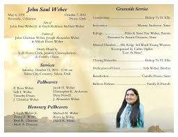 Free Funeral Program Template For Word Beautiful 8 Best Of