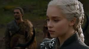 emilia clarke as daenerys targaryen in a still from game of thrones