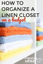 linen closet organization on a budget how to declutter your linen closet set up