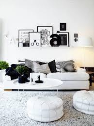 Captivating Gemütliche Einrichtung Ideen Schwarz Weiß Grau Dekokissen Couch  Idea