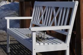 Купить Скамейка <b>Садовая</b> - белый, скамейка, скамейка <b>садовая</b> ...