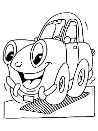Kleurplaat Auto Cars Kleurplatennl