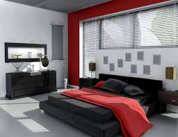 modern bedroom black and red. Simple Modern Black Red Bedroom Ideas With Grey And Master Intended Modern
