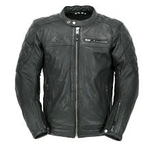 oxford route 73 leather jacket black