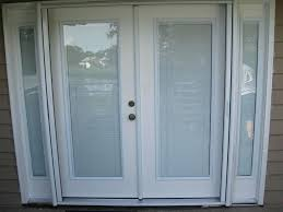 blinds in glass door insert elegant french door blinds touch white french door blinds glass door