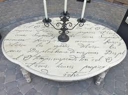 shabby chic furniture nyc. diy french poem stenciled outdoor table shabbychicstylepatio shabby chic furniture nyc h