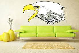 eagle wall decorations custom made eagle metal wall art