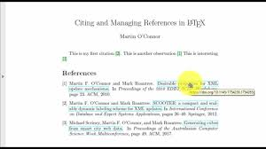 How To Hyperlink References In Latex
