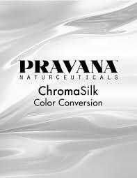 Chromasilk Color Conversion Guide Pravana Professional
