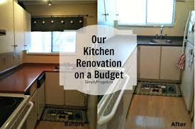 Small Picture Kitchen Renovation on a Budget Home Interior Ekterior Ideas