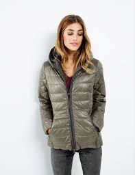 Lightweight quilted jacket with a hood buy now | TAIFUN & Lightweight quilted jacket with a hood,biscotti,large Adamdwight.com