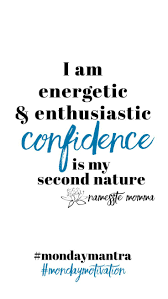 Weekly Affirmation Energetic Enthusiastic Mom Confidence