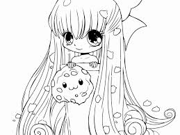 Stupendous Anime Girl Coloring Pages Fox Chibi Kawaii Warrior Cat