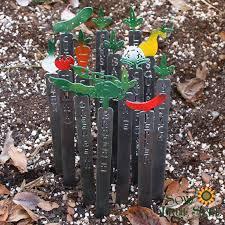metal plant labels for the vegetable garden gardenideas vegetablegarden