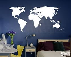 office world map. Zoom Office World Map L