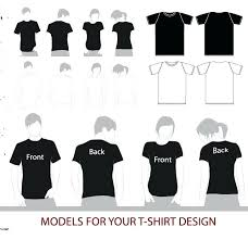 T Shirt Template Inspirational Free Download Ai Colombialistainfo