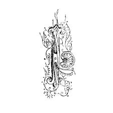 門の金具用装飾柄pop広告用ベクターイラスト素材集 Hand Drawn