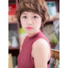 個性ある女の子ショートa Cover Hair Bliss 上尾西口店カバーヘア