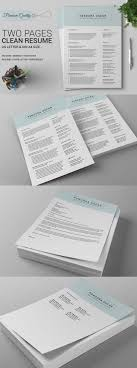 524 Best Resume Templates Images On Pinterest Resume Templates
