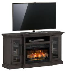 60 granson espresso pine infrared tv