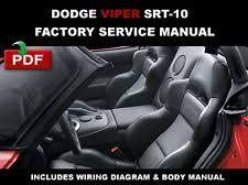 dodge viper service manual cd dodge viper roadster 2003 2006 factory oem service repair workshop fsm manual