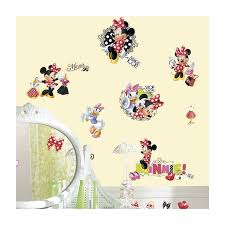 minnie mouse loves to wall stickers