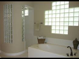 curved shower wall with glass blocks glass wall blocks
