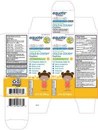 Equate Childrens Cold Cough Daytime