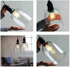 diy pendant lights retro industrial ceiling lamp light glass pendant lighting home decor fixtures free bulb diy pendant