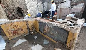 VIDEO – Eccezionale ritrovamento Pompei: ecco il Termopolio della Regio V |  Bonvivre