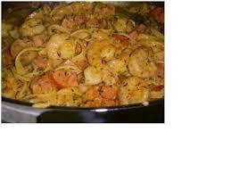 cajun shrimp and sausage pasta