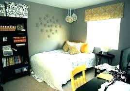 yellow bedroom decorating ideas and grey walls floor