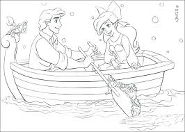 Free Little Mermaid Coloring Pages Math Worksheets Multiplication