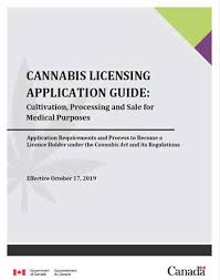 Shared Services Canada Org Chart Cannabis Licensing Application Guide Cultivation