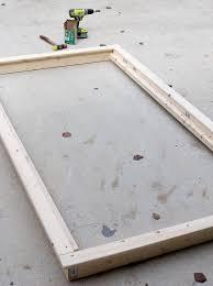 diy platform bed. DIY Platform Twin Bed Diy