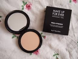 makeup forever pro finish multi use powder foundation swatch review