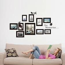 removable photo frame wall sticker